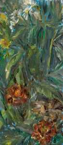 August 7, 2020, Öl auf MDF, 23 x 10 cm