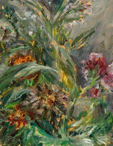 August 10, 2020, Öl auf MDF, 17 x 13 cm