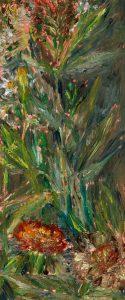 August 11, 2020, Öl auf MDF, 27 x 10 cm