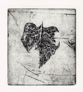 Ohne Titel, 2008, Strichätzung, 10 x 8,8 cm
