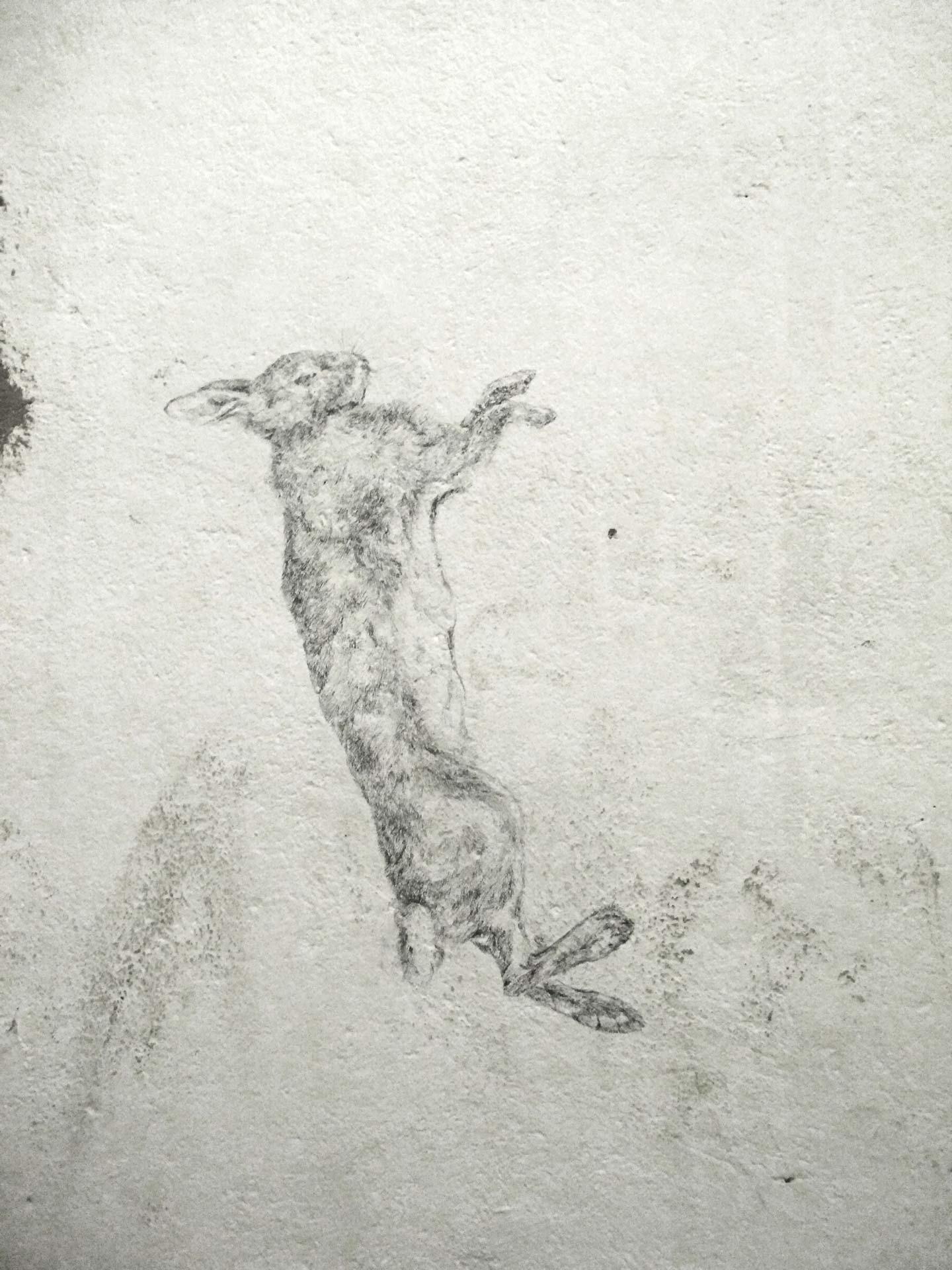 Wandzeichnung, 2011, Kunstverein Familie Montez