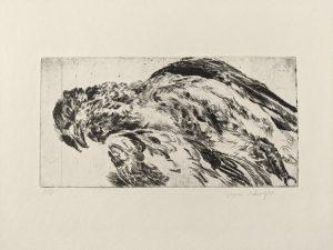 """Ohne Titel, Blatt aus der Mappe """"Acht Vögel"""", 2010"""