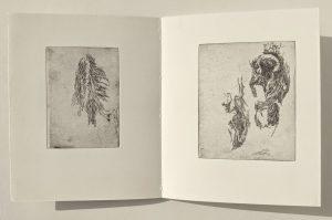"Doppelseite aus ""Bergung"", 2005"