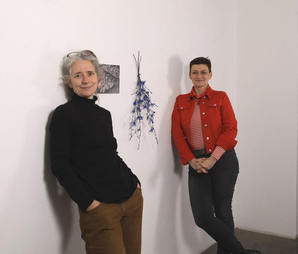 DIALOGISCHE AUSSTELLUNG: Vroni Schwegler und Susan Donath, STUDIOSPACE, Frankfurt, 2021